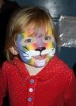 Fantastic rainbow tiger