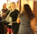 Hitting the dancefloor